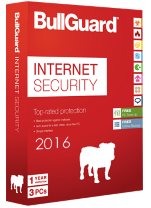 BullGuard Internet Security Scherm