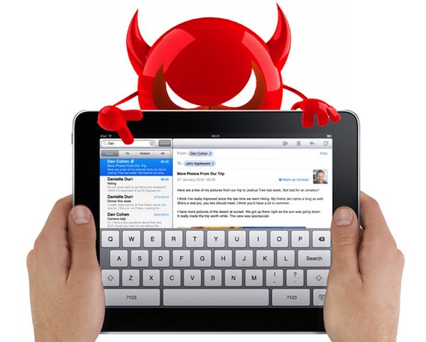 ipad geinfecteerd met malware