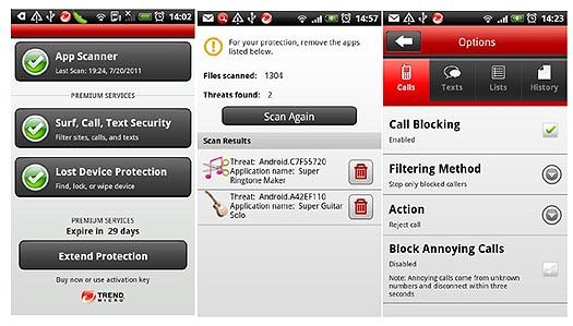 Mogelijkheden Trend Micro Mobile